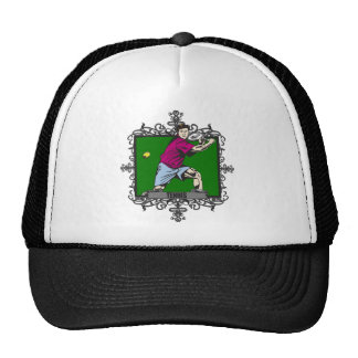 Aggressive Men's Tennis Trucker Hat