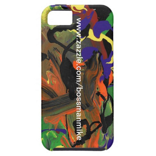 """""""Aggressive Mind..."""" iPhone 5 Cover"""