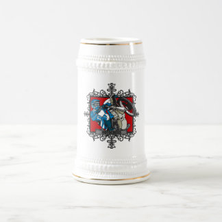 Aggressive Motocross Beer Stein