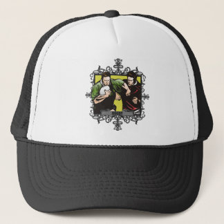 Aggressive Rugby Trucker Hat