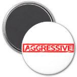 Aggressive Stamp Magnet