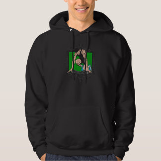Aggressive Track and Field Hoodie