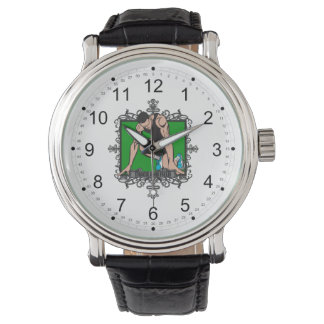 Aggressive Track and Field Wrist Watch
