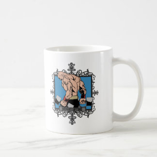 Aggressive Weight Lifting Coffee Mug