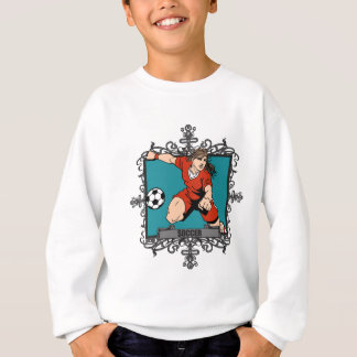 Aggressive Women's Soccer Sweatshirt