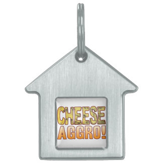 Aggro Blue Cheese Pet ID Tag