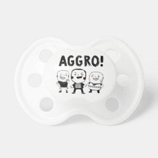 AGGRO Boys don't fear! BooginHead Pacifier