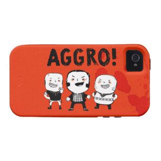 AGGRO Boys don't fear! iPhone 4 Cases