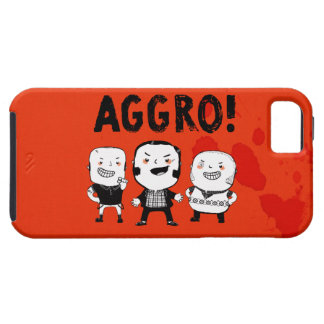 AGGRO Boys don't fear! iPhone 5 Covers