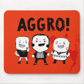 AGGRO Boys don't fear! Mouse Pad