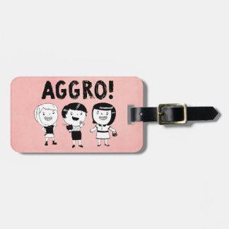 AGGRO Girls Bag Tag