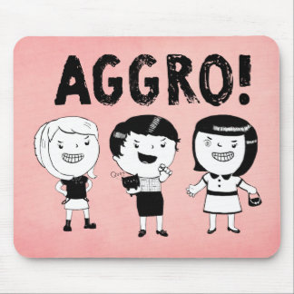 AGGRO Girls Mouse Pad