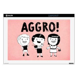 AGGRO Girls Skins For Laptops