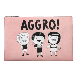 AGGRO Girls Travel Accessory Bag