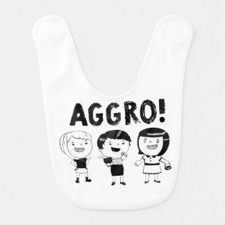 AGGRO Girls Baby Bib
