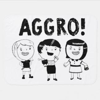 AGGRO Girls Baby Blankets
