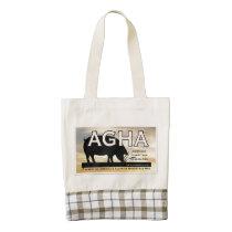 AGHA Tote-color logo Zazzle HEART Tote Bag