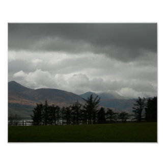 Aghadoe Mountains Poster