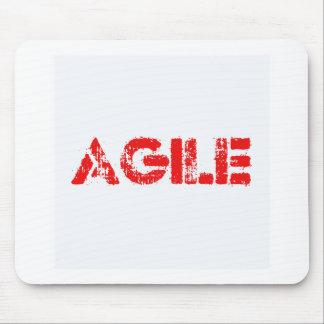 Agile agenda mouse pad