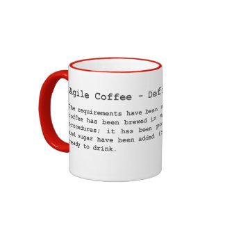 Agile Coffee - Definition of Done Ringer Coffee Mug