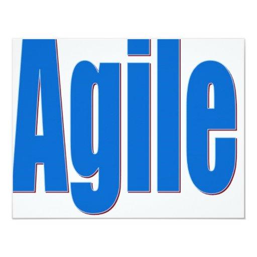 Agile Custom Invites