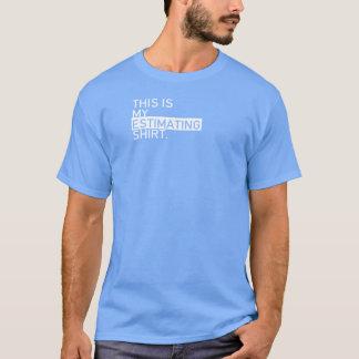 Agile Estimating Shirt