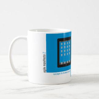 Agile Manifesto cup II. Classic White Coffee Mug