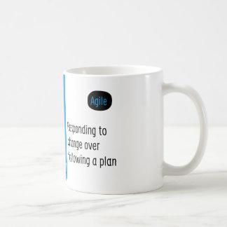Agile Manifesto cup IV. Classic White Coffee Mug