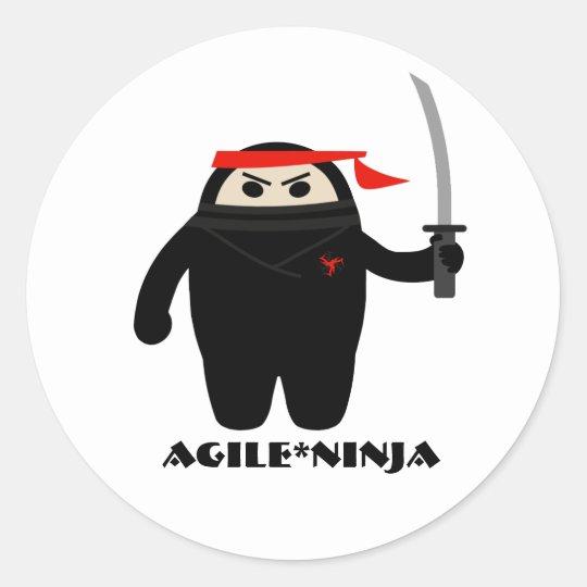 Agile Ninja Stickers