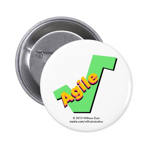 Agile Pinback Buttons
