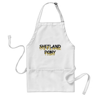 Agile Shetland Pony Adult Apron