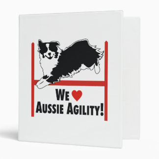 "Agilidad australiana del pastor carpeta 1"""