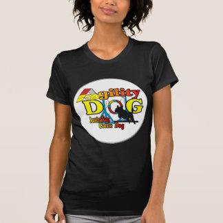 Agilidad australiana del perro del ganado camisetas