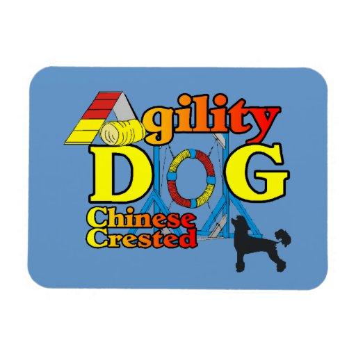 Agilidad con cresta china iman flexible