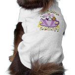 Agilidad de la taza de té camisas de mascota
