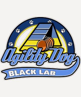 Agilidad negra del laboratorio del béisbol camiseta