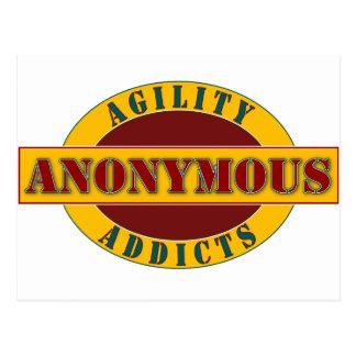 Agility Addicts Anonymous Postcard