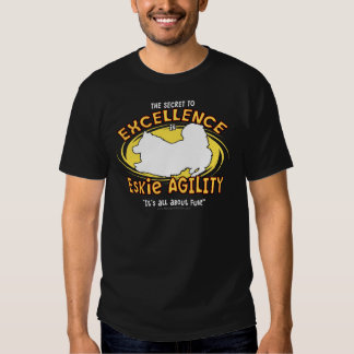 Agility American Eskimo Dog Secret T-Shirt