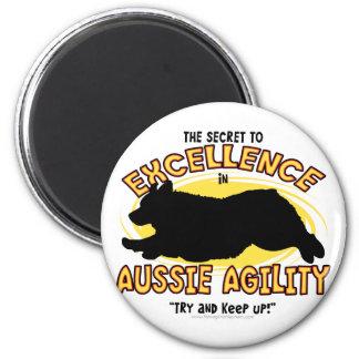 Agility Australian Shepherd Secret Magnet