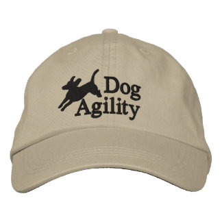 Agility Beagle Embroidered Hat