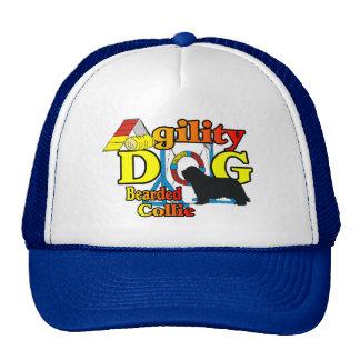 Agility Bearded Collie Trucker Hat