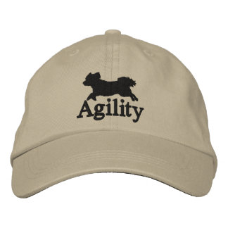 Agility Bichon Frise Embroidered Hat