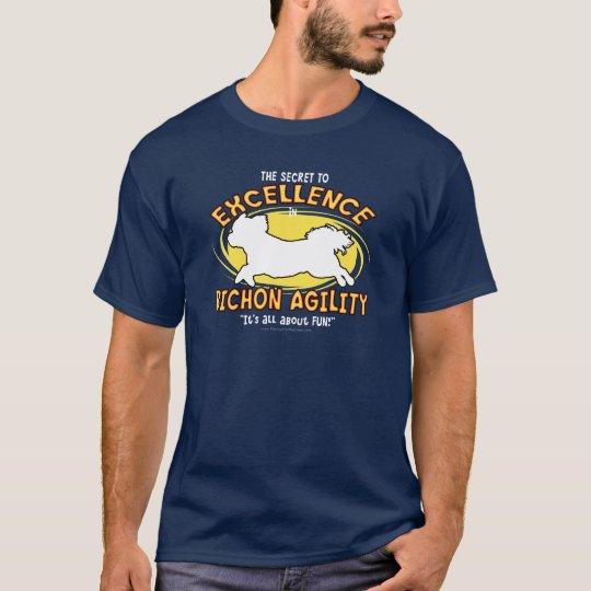 Agility Bichon Frise Secret T-Shirt