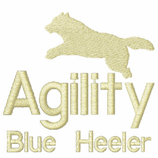 Agility Blue Heeler Embroidered Hoodie