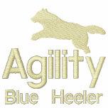 Agility Blue Heeler Embroidered Hoodie
