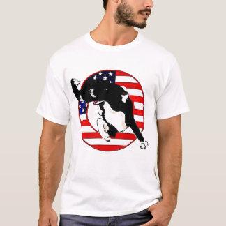 Agility Border Collie Tee~Memorial Day T-Shirt