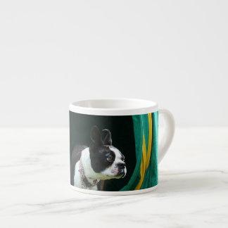 Agility Boston terrier Espresso Cup