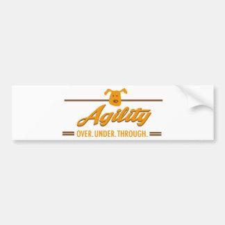 agility bumper stickers