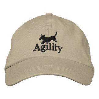 Agility Cardigan Welsh Corgi Embroidered Hat