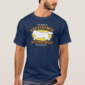 Agility Cattle Dog Secret Dark T Shirt